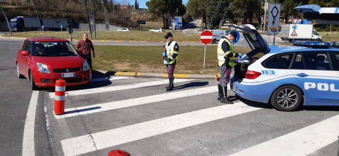 Covid-19, controlli spostamenti tra Comuni: Municipale di Siena denuncia una persona