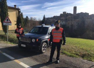 In provincia di Siena da un'altra Regione con autocertificazione falsa