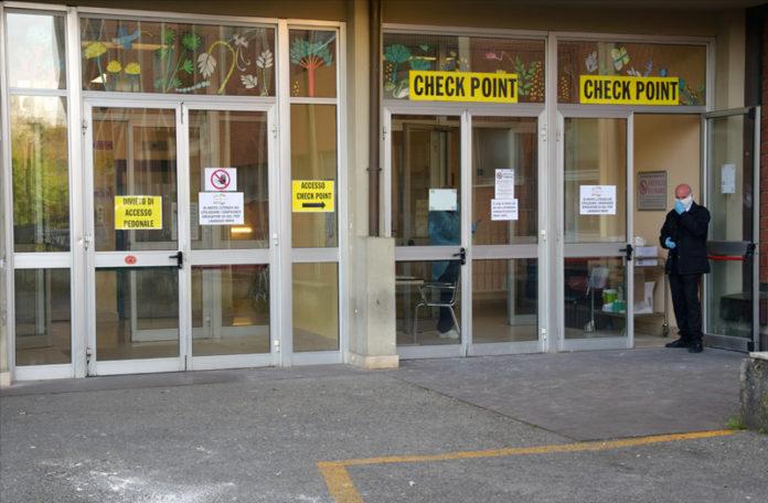 """Coronavirus: A """"Le Scotte"""" un nuovo check point all'ingresso del lotto 4"""