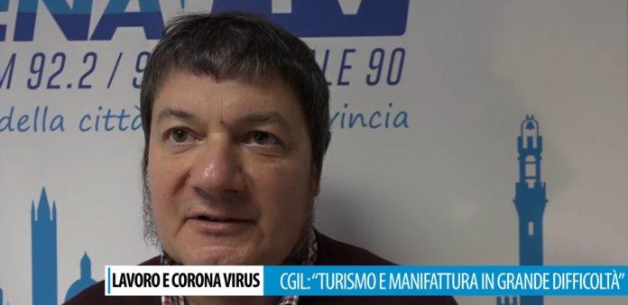 """Effetti coronavirus su economia, Seggiani (Cgil Siena): """"Manifattura in difficoltà, decine di lavoratori a casa"""""""