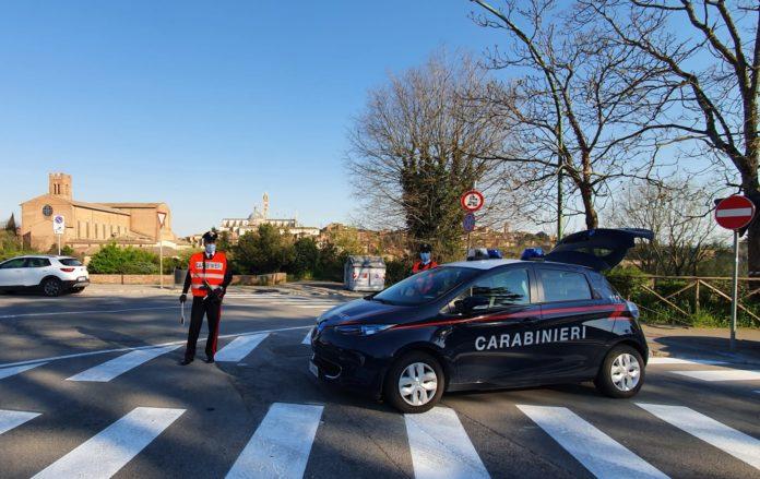 Pasquetta, i carabinieri multano 27 persone in provincia di Siena