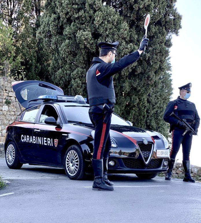 Droga, 40enne senese arrestato dai carabinieri