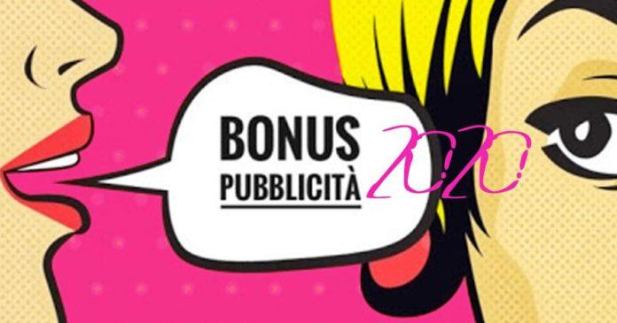 Decreto Cura Italia: bonus pubblicità per l'anno 2020