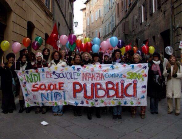 """Cgil Siena: """"Nidi, asili e scuole: urgente individuare modalità di riapertura in piena sicurezza"""""""