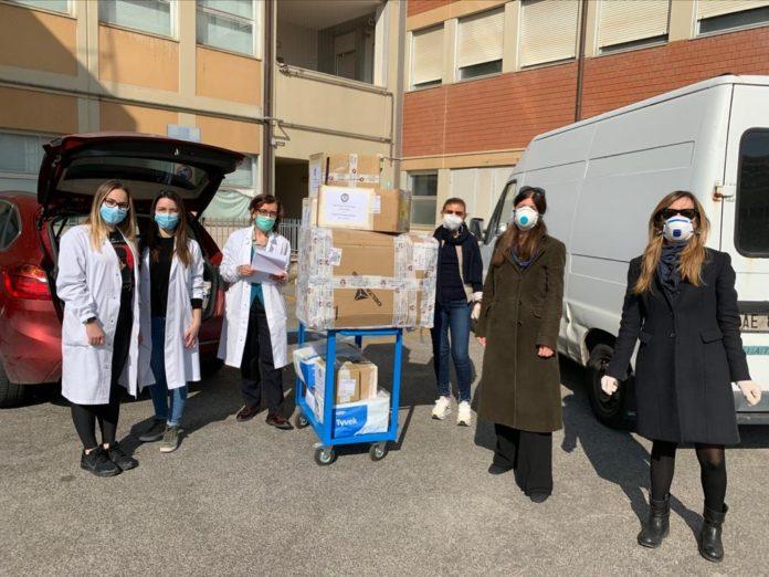 Soroptimist Siena, donati a Le Scotte nuovi dispositivi di protezione individuale