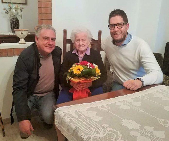 Centenaria da record: nonna Tosca compie 108 anni