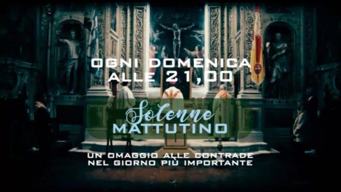 Feste Titolari, domenica 17 i due nuovi format di Siena Tv dedicati alla contrada di Valdimontone