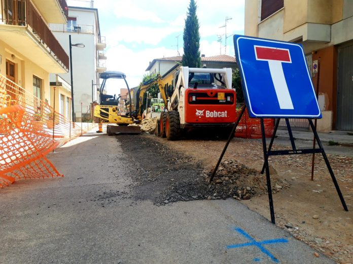 Chiusi: ripartono i cantieri in centro storico e allo scalo