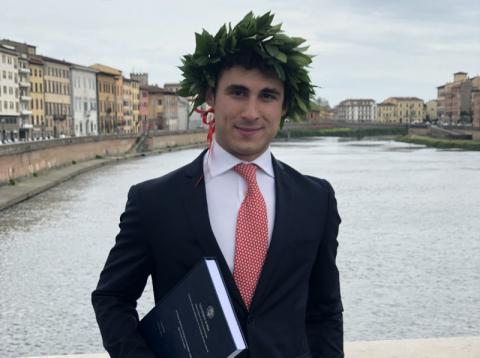Il senese Andrea Vignini ammesso alla Harvard Law School