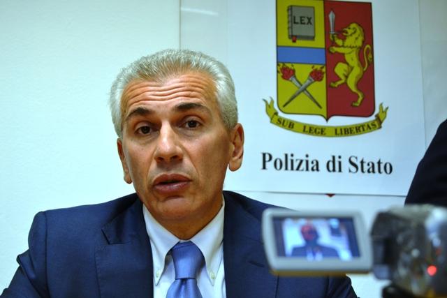 L'ex dirigente della squadra mobile di Siena, Maurizio Di Domenico, promosso Questore