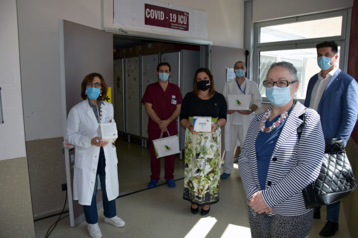 Puerto Seguro, onlus di Banca Centro, dona 200 mascherine chirurgiche alle Scotte