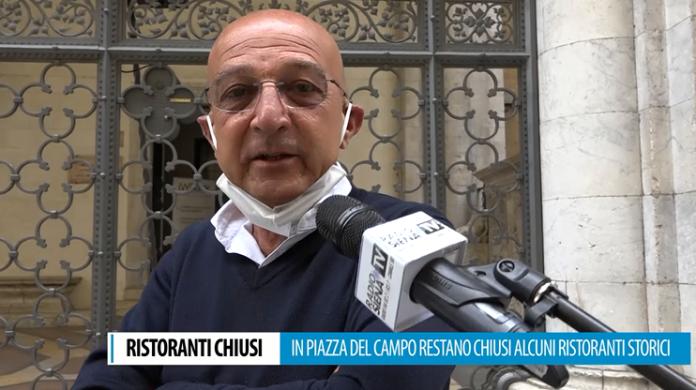 """Fase 2, in Piazza del Campo molti ristoranti storici restano chiusi. """"Senza turismo perdiamo l'85% dei clienti"""""""