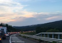 Incidente sulla Siena – Grosseto: un ferito grave e traffico bloccato – IL VIDEO