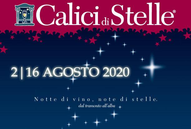 """Dal 2 al 16 Agosto torna """"Calici di stelle"""""""