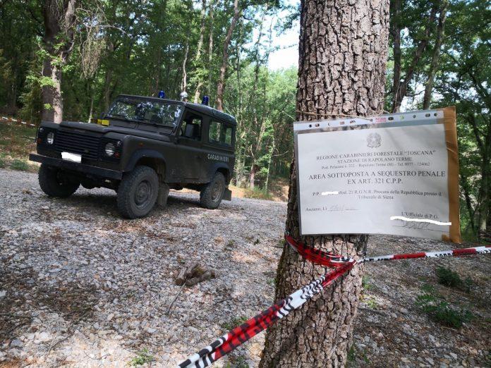 Edilizia abusiva, i Carabinieri forestali sequestrano un'abitazione