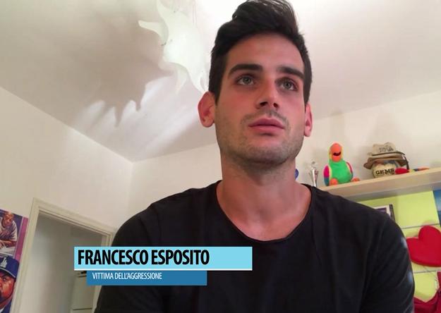 Aggredito perchè gay, il racconto di Francesco a Siena Tv
