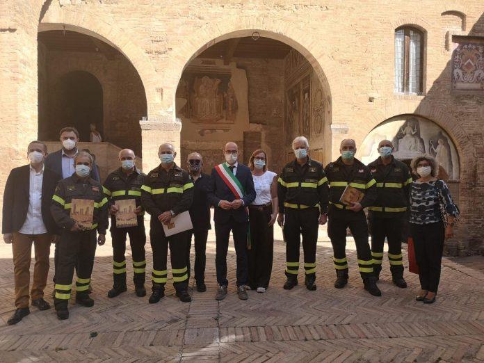 Recupero della cappella del Podestà, San Gimignano ringrazia i vigili del fuoco