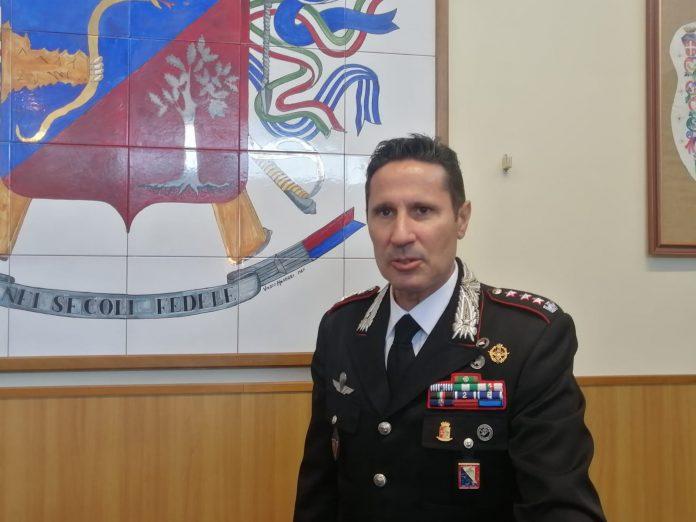 Carabinieri, il nuovo comandante provinciale di Siena Nicola Ferrucci si presenta