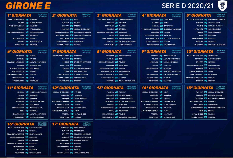 Calendario Siena Calcio 2021 Acn Siena 1904, ecco il calendario: il primo impegno è in casa