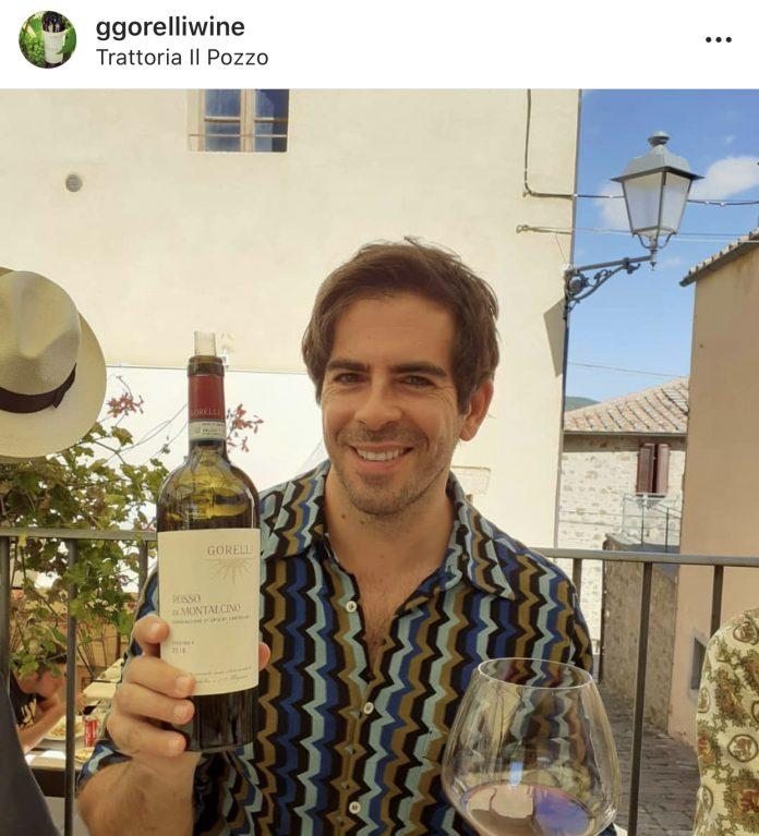 L'attore e regista Eli Roth ospite a Montalcino