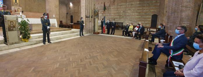 La Guardia di Finanza di Siena celebra il suo patrono San Matteo