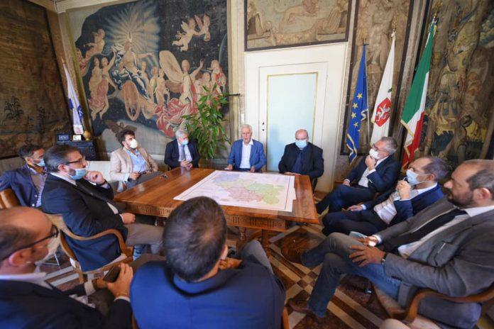 Giani incontra i sindaci senesi: sul tavolo turismo, salute ed infrastrutture