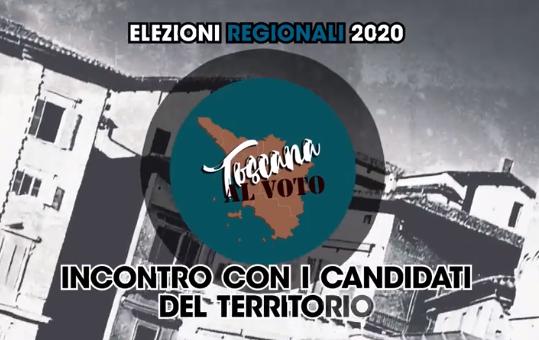 """""""Toscana al voto"""": Siena Tv incontra i candidati al consiglio regionale"""