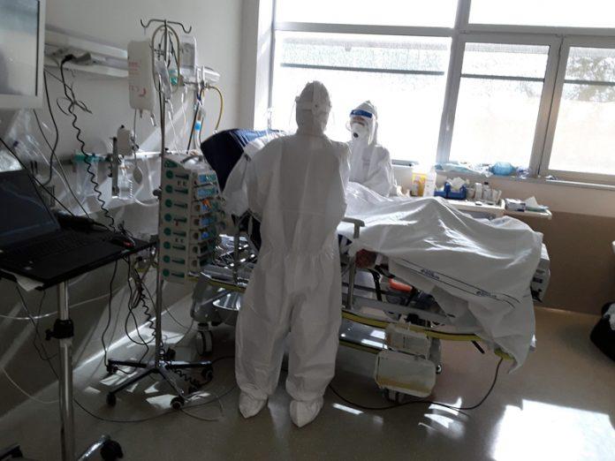 Siena – area Covid ospedale le Scotte, nuovo picco di ricoverati: 108