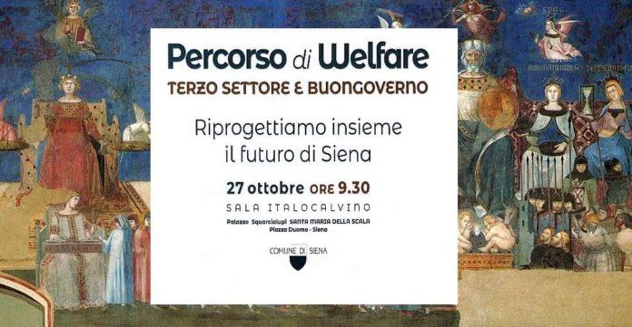 """A Siena l'evento di welfare partecipato """"Terzo settore e Buongoverno"""""""