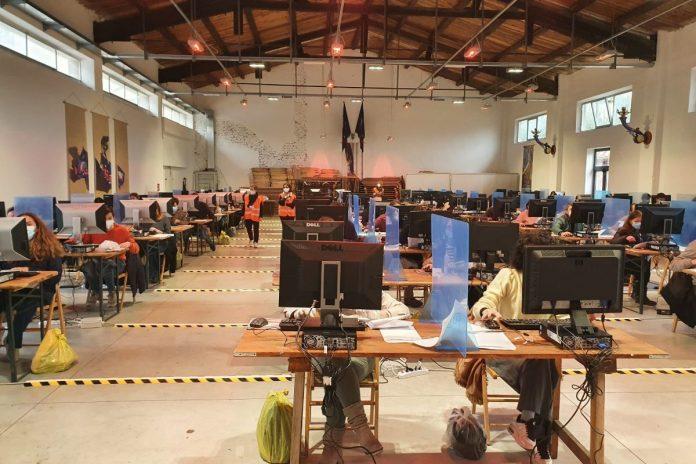 Concorso al Comune di Siena, prova scritta per 267 candidati nei locali del Santa Chiara