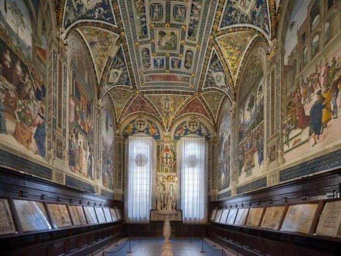 Duomo di Siena, torna a splendere la Libreria Piccolomini