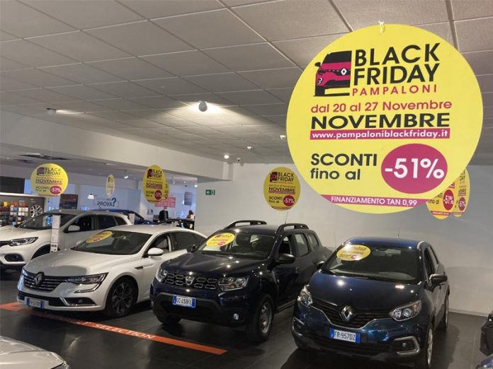 Il Black Friday arriva alla Concessionaria Pampaloni !
