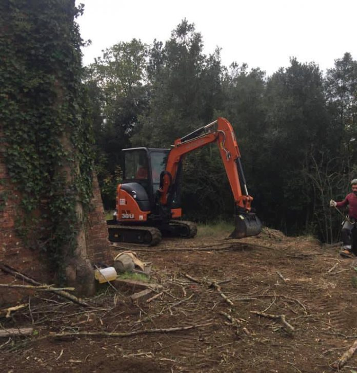 Frana in Fontebranda: iniziati oggi i lavori di messa in sicurezza