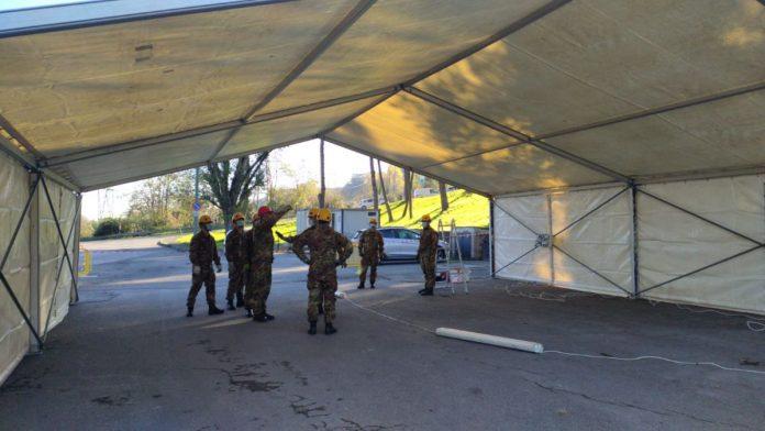 Tamponi Covid, da domenica 29 operativo il nuovo drive through nel parcheggio Mens Sana