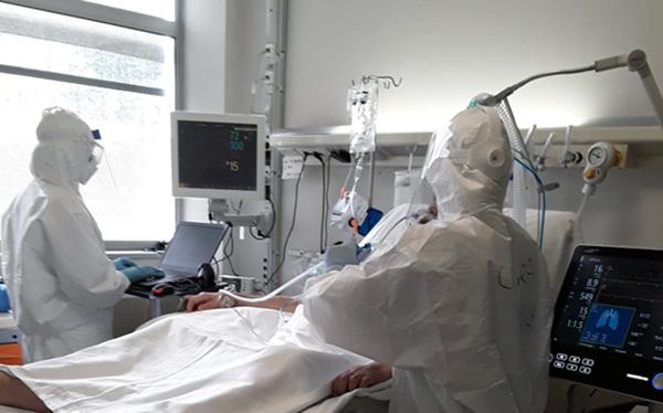 Ospedale le Scotte, la situazione: 86 i ricoverati in area Covid
