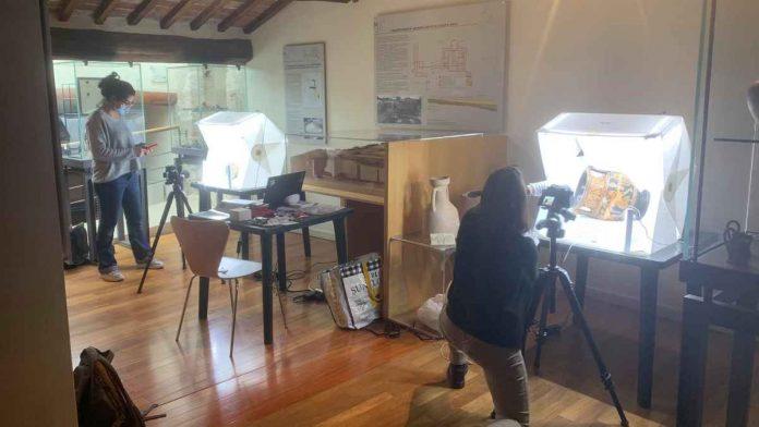 Asciano, i reperti etruschi e romani di Palazzo Corboli rivivono in 3D dopo 2500 anni
