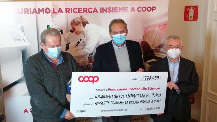 Coop, raccolti oltre 1,5 milioni di euro per la ricerca sugli anticorpi monoclonali