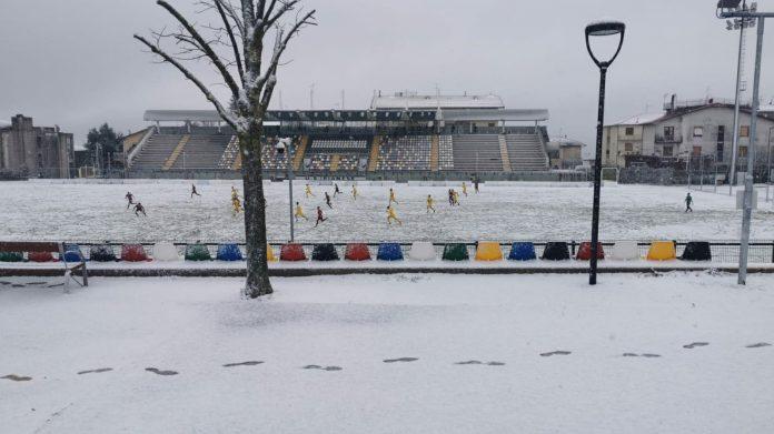 Serie D: Pianese fa 1-1 in mezzo alla neve, pari Sinalunghese, sconfitte per Badesse e San Donato Tavarnelle