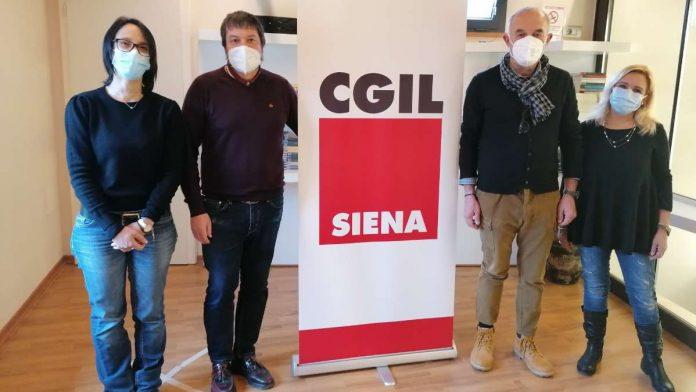 Segreteria Cgil Siena, entra Daniela Spiganti, eletta dall'Assemblea Generale