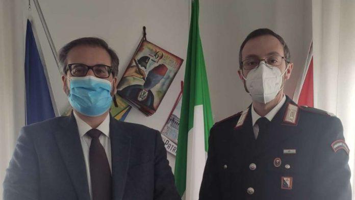Monteriggioni accoglie il nuovo maresciallo dei Carabinieri, Egidio Zerenghi
