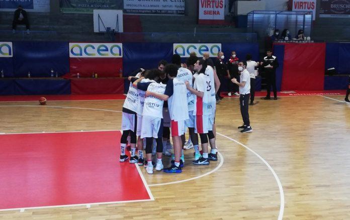 Basket, la Virtus Siena batte la Synergy Valdarno e rimane a punteggio pieno