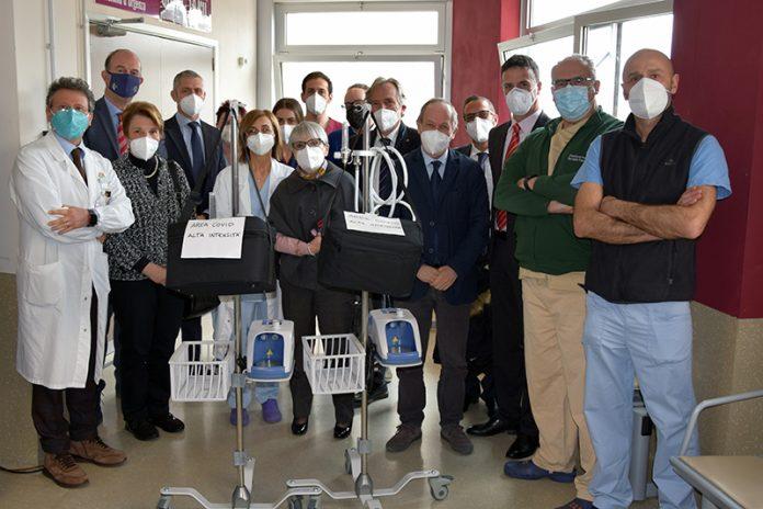 Lions di Siena e provincia: donati all'Area Covid due apparecchi per supporto respiratorio con alti flussi