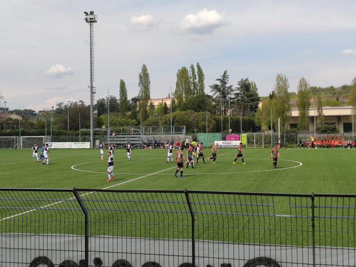 Il Siena batte di misura il Grassina grazie al gol di De Angelis
