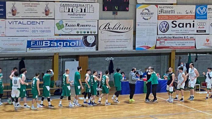 Basket Serie C Silver, Mens sana Siena sconfitta sul campo del Fucecchio