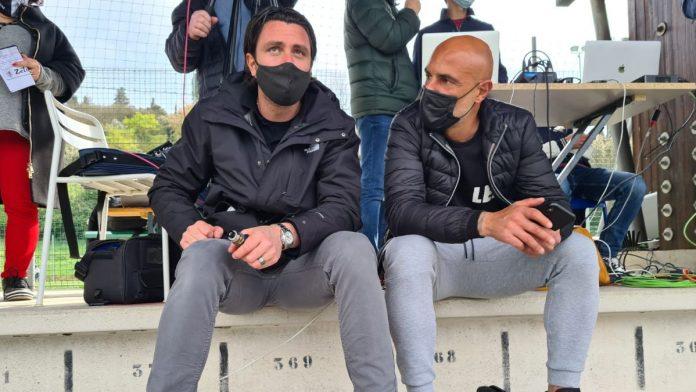 Gli ex Robur Maccarone e Pozzi in tribuna per Grassina – Acn Siena