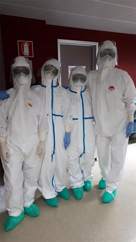 Ospedale le Scotte, 90 pazienti in area Covid
