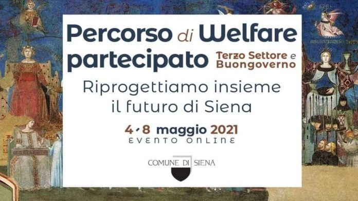 """""""Terzo settore e Buongoverno senese"""": l'evento si sposta online dal 4 all'8 Maggio"""