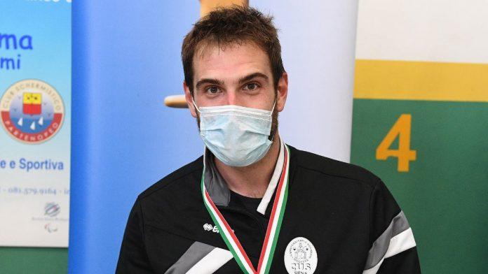 Scherma paralimpica, trionfo a Napoli per il cussino Alberto Morelli