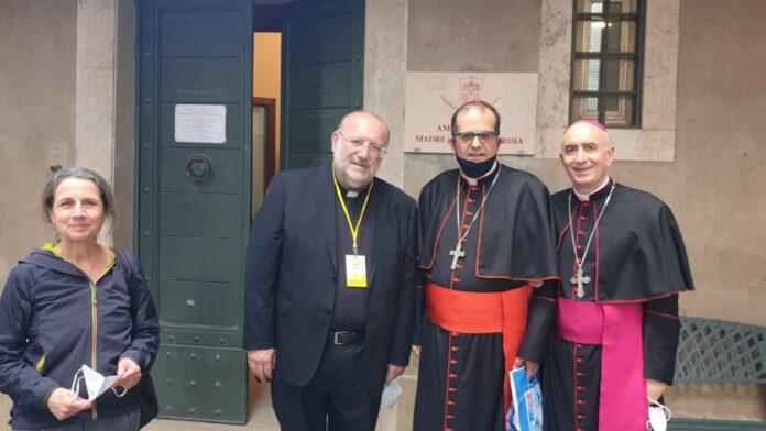 """Tutela minori, cardinale Lojudice in udienza dal Papa con don Fortunato Di Noto e """"Meter"""""""