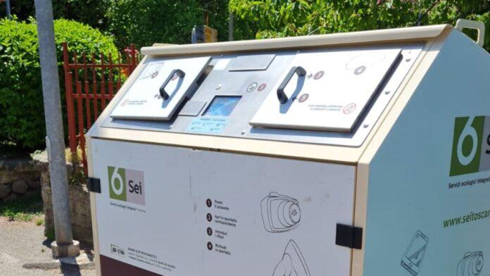 Abbadia San Salvatore, due box per la raccolta dei piccoli elettrodomestici